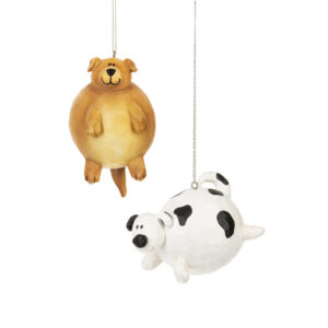 Fat Dog Ornament