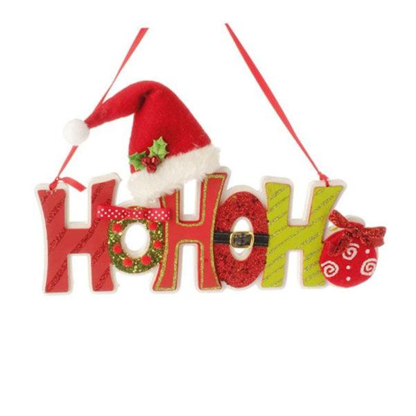 Festive HoHoHo Ornament