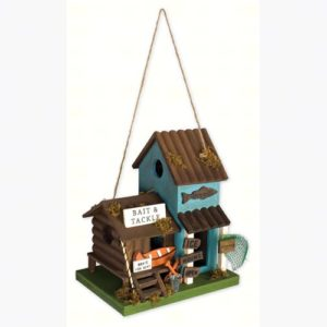 Fishing Bait and Tackle Birdhouse