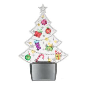 Flashing Christmas Tree Night Light