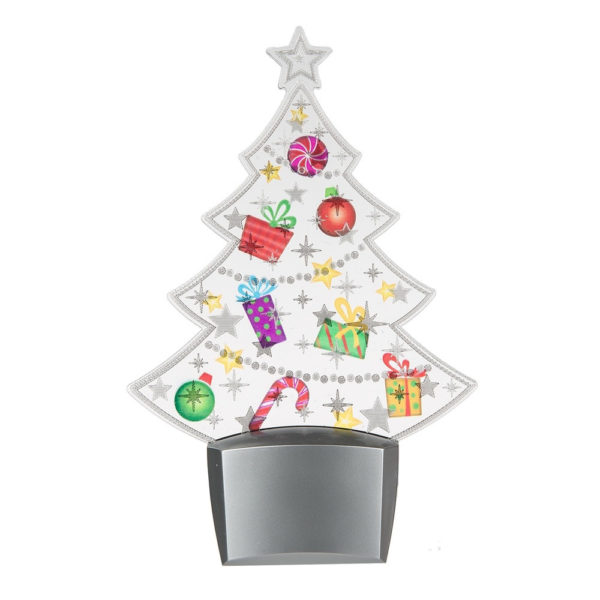 Flashing Christmas Tree Night Light