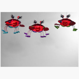 Flirty Crab Ornament