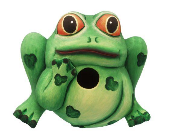 Frog Shaped Birdhouse