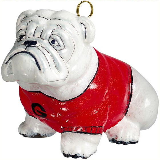 Georgia Bulldog Ornament