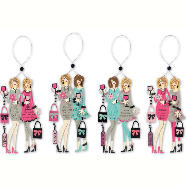 Girls Night Out Ornaments