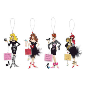 Glamour Girl Ornament