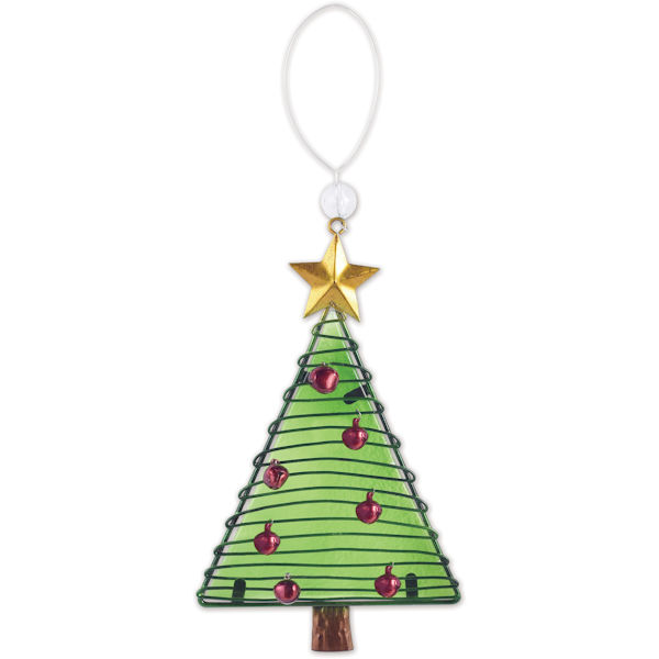 Glass Christmas Tree Ornament