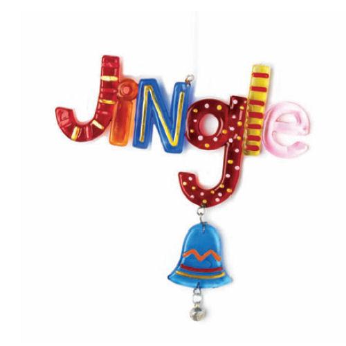 Glass Fusion Jingle Ornament