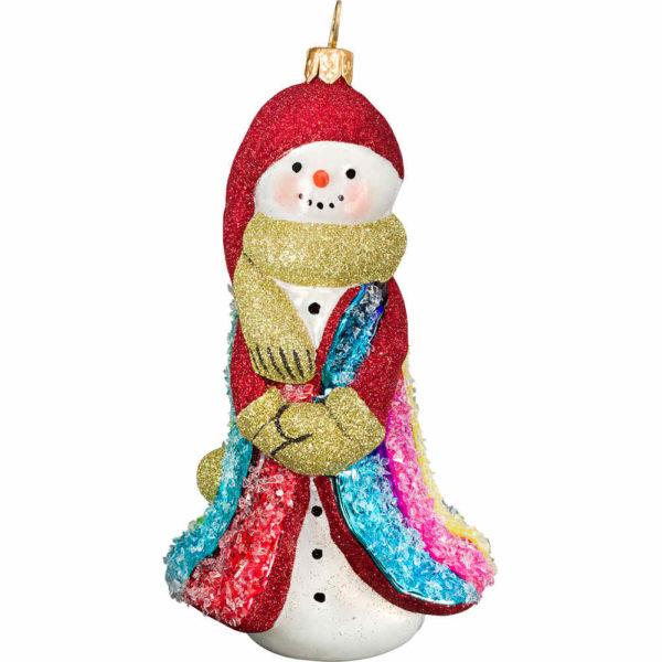 Glitterazzi Rockin Candy Snowman