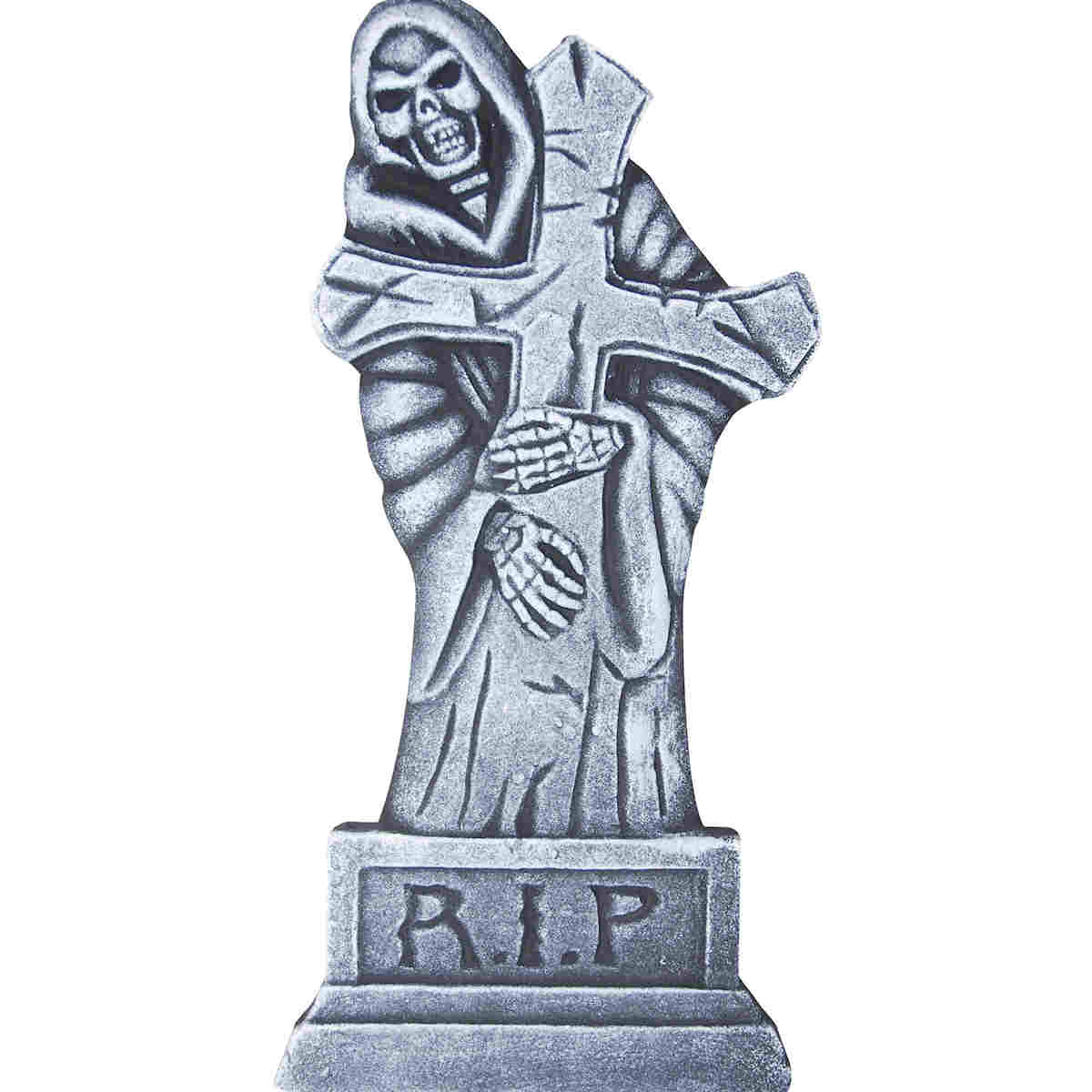 Grim Reaper Tombstone Halloween Decoration Happy Holidayware