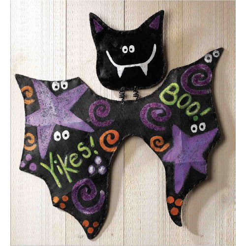 Halloween Bat Door Decoration