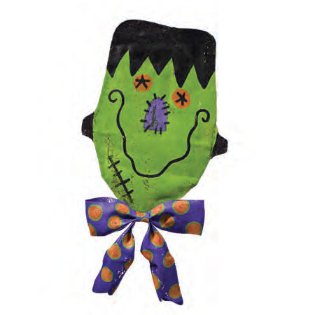 Halloween Happy Frankenstein Door Decoration