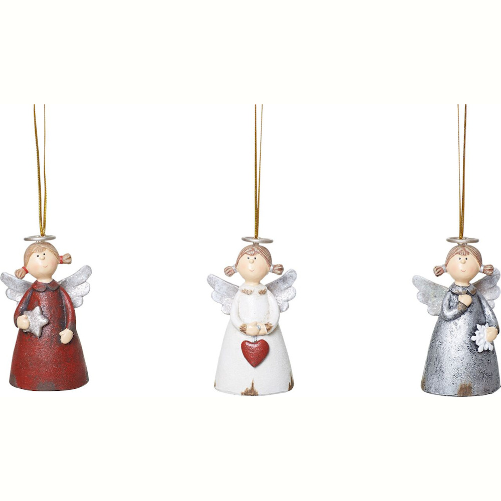 Halo Angel Christmas Ornaments