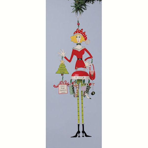 Heavenly Christmas Queen Ornament