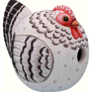 Hen Shaped Birdhouse