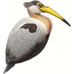 Gourd Heron Shaped Birdhouse