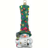Hit the lights Snowman Ornament