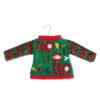 Ho Ho Ho Ugly Sweater Ornament