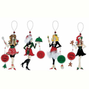 Holiday Cookie Chefs Ornament