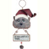 Hug the Cat Ornament