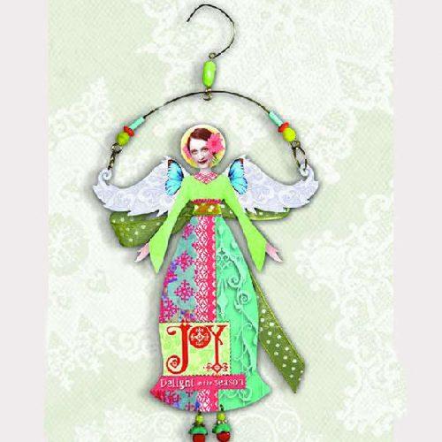 Joy Angel Christmas Ornament