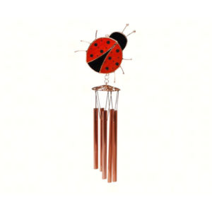 Lady Bug Wind Chime