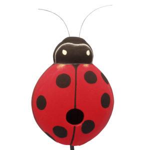 Gourd Ladybug Shaped Birdhouse