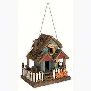 Lake Front Cottage Birdhouse