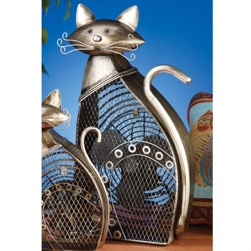Large Funky Cat Shaped Fan