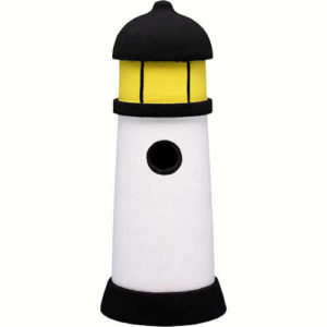 Lighthouse Shaped Birdhouse