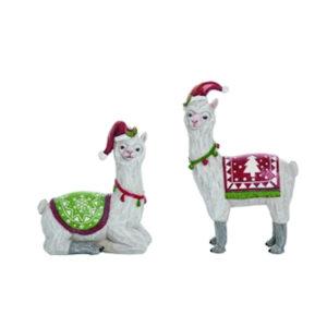 Resin Llama Figurines