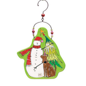 Look…Joy Christmas Ornament