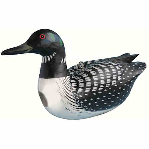 Loon Shaped Birdhouse