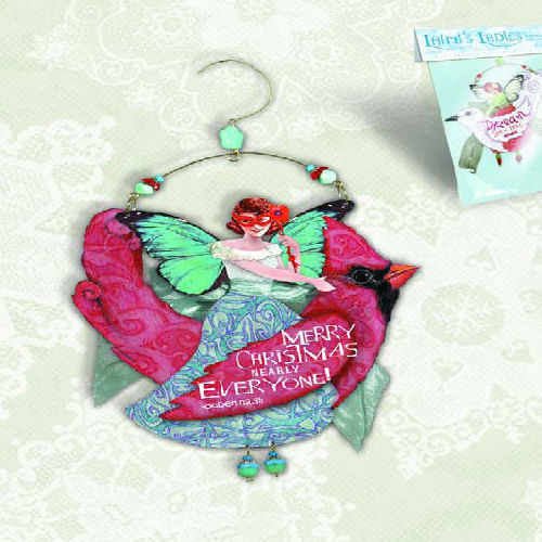 Merry Angel Christmas Ornament