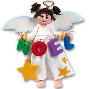 Noel Angel Ornament