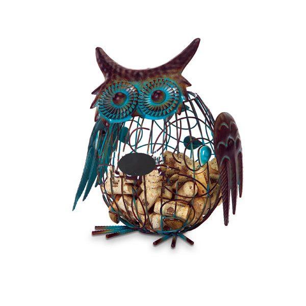 Owl Cork Caddy