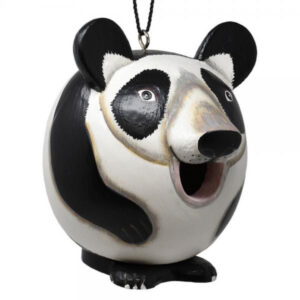 Panda Shaped Birdhouse