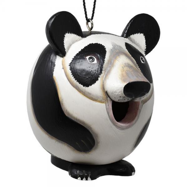 Panda Shaped Birdhouse