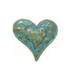 Patina Heart Purse Magnet