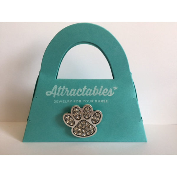 Paw Attractable Purse Charm Magnet