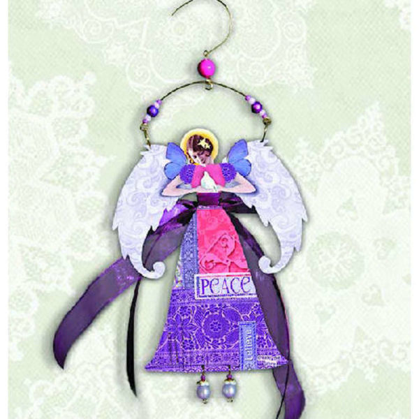 Peace Angel Christmas Ornament