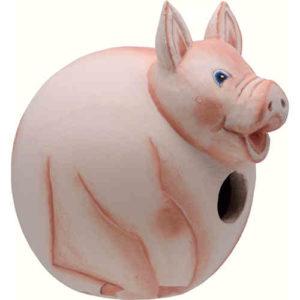 Pig Shaped Birdhouse