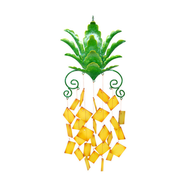 Pineapple Glass Wind Chime