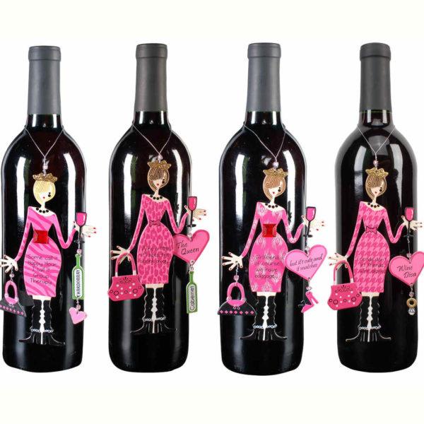 Pink Happy Hour Divas Ornament