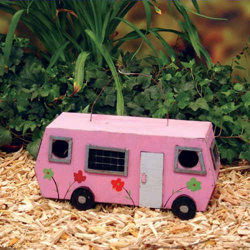Pink RV Birdhouse