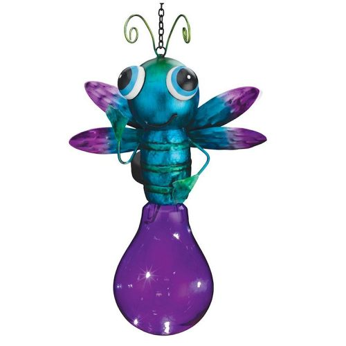 Solar firefly with purple body
