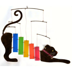 Rainbow Cat Hanging Mobile