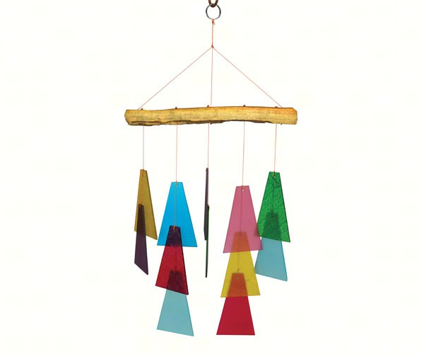 Recycled Trapezoid Wind Chime