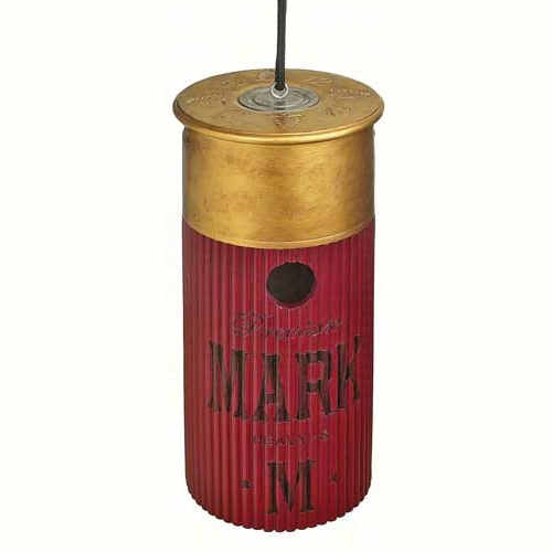 Red Gun Shell Shaped Birdhouse