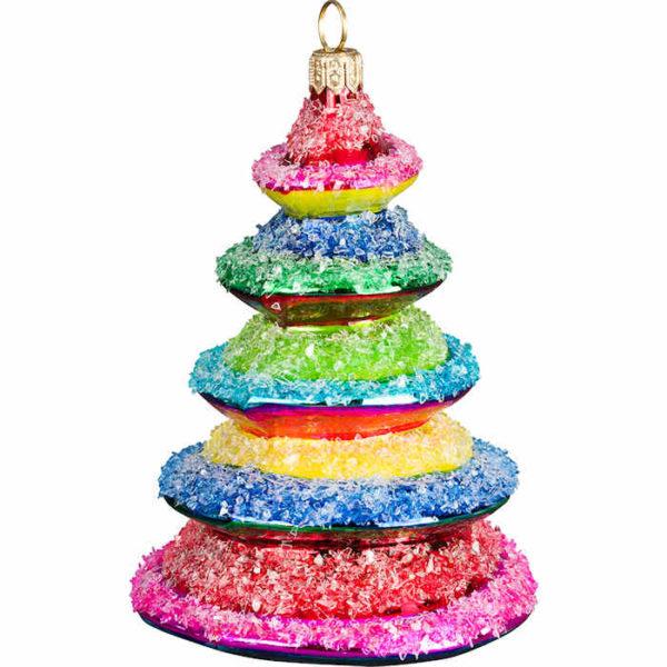 Rockin' Candy Rainbow Tree Ornament